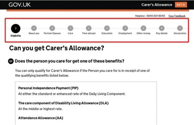 Carer's Allowance service