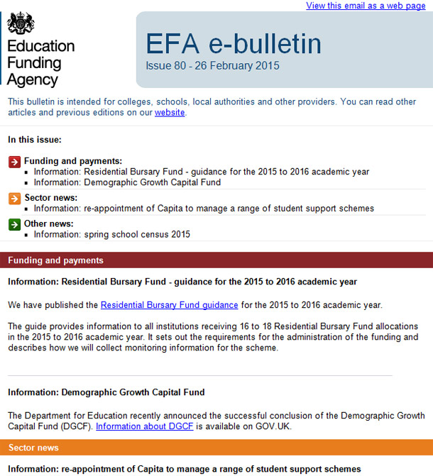 EFA-newsletter