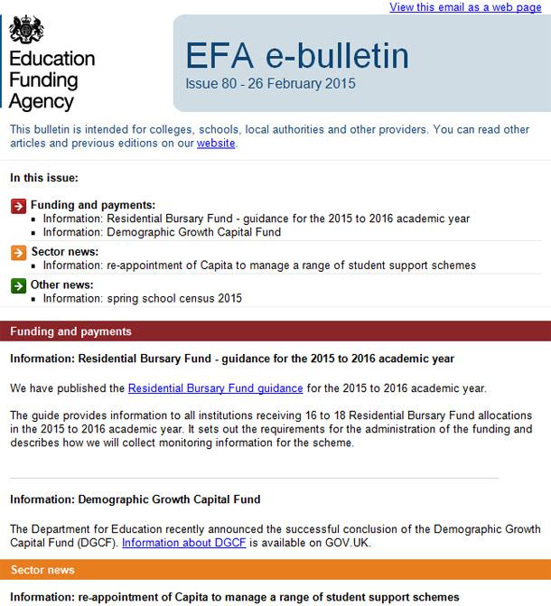 EFA-newsletter