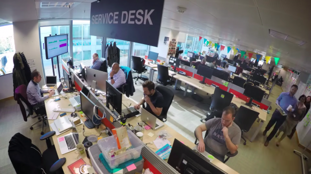 GDS internal IT service desk team