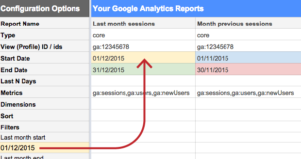 Using relative date formulas in Google Sheets to query