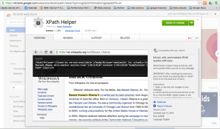 XPath helper from Google Store