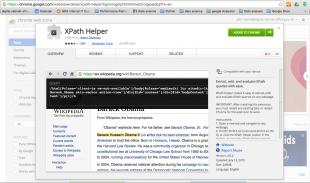 XPath helper from Google Store
