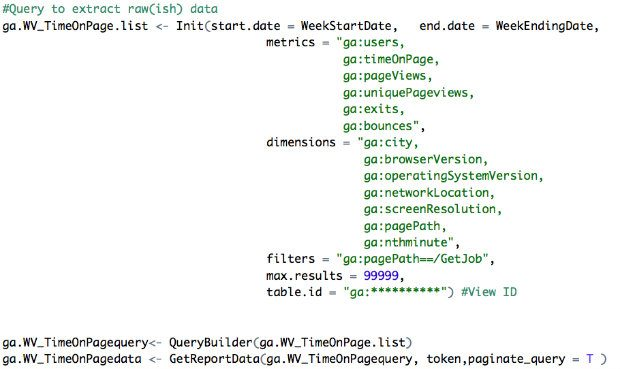 This R code extracts all the pageviews of the '/GetJob' page for that particular day (all 379,000 of them)