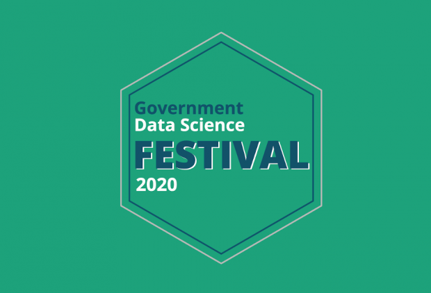 Logo for the Government Data Science Festival 2020
